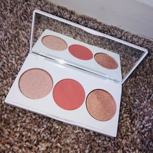 NWOT! OFRA Cosmetics Highlighter and Blush Palette